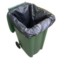 Black Wheelie Bin Bags Refuse Sacks